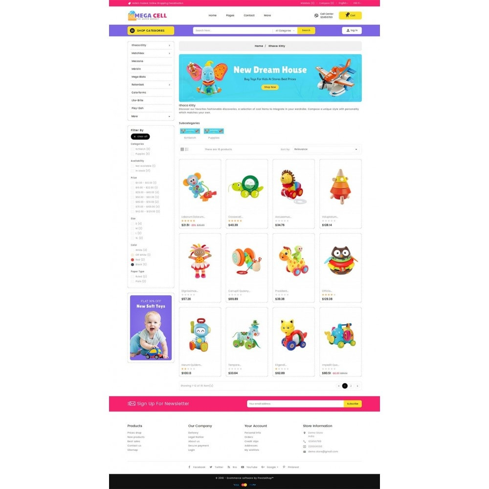 theme - Niños y Juguetes - Mega Cell Kid Toys - 4