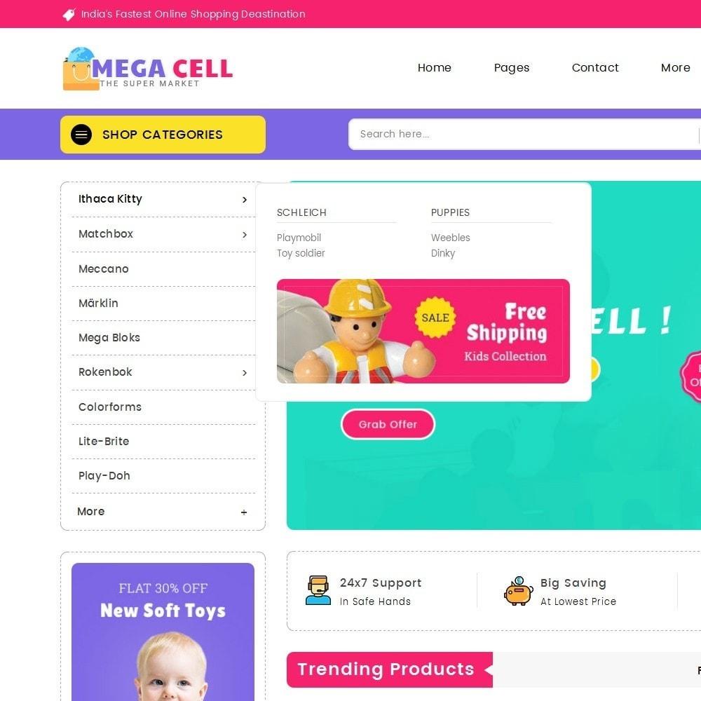 theme - Bambini & Giocattoli - Mega Cell Kid Toys - 9