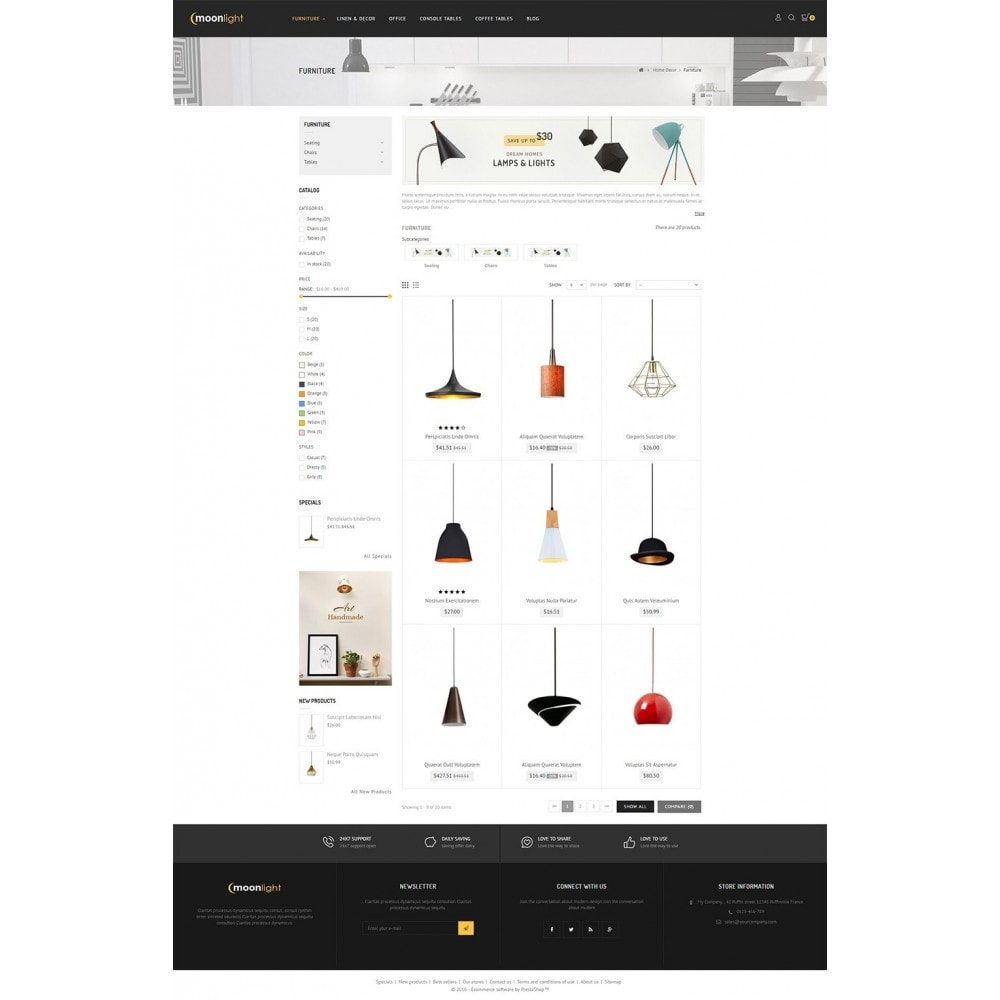 theme - Casa & Giardino - Lighting Store - 4
