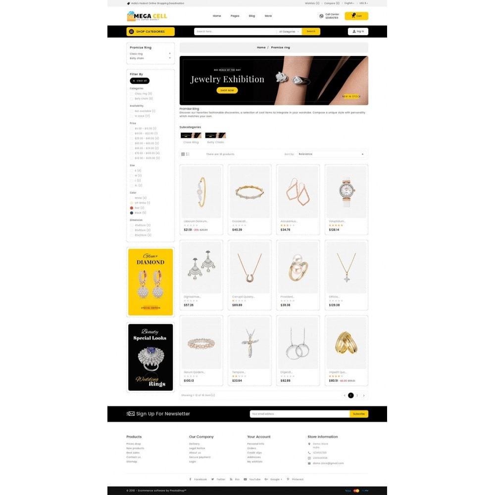 theme - Bijoux & Accessoires - Mega Cell Jewelry Imitation - 4