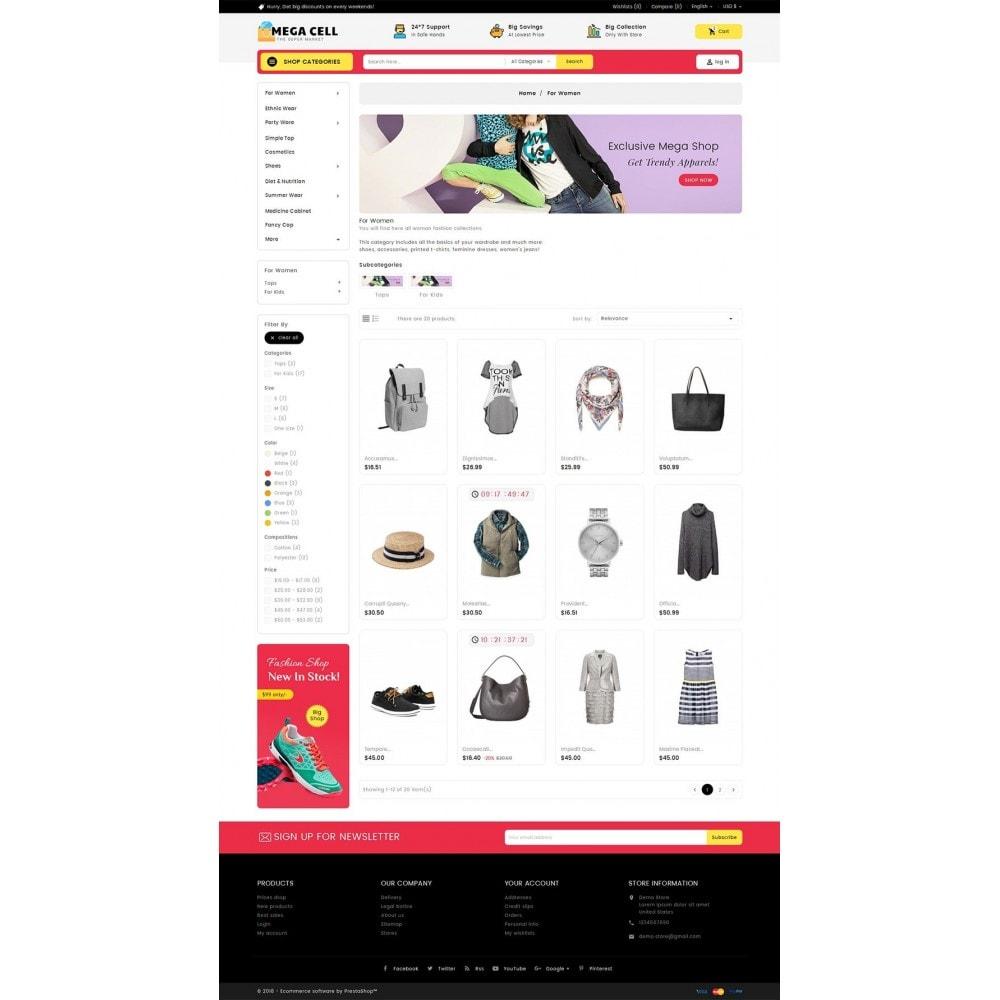 theme - Moda y Calzado - Mega Cell Fashion Market - 4