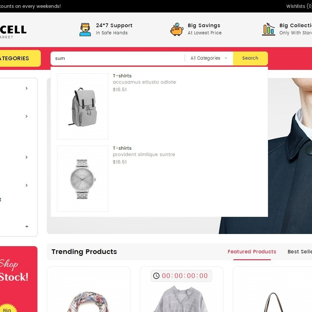 theme - Mode & Schuhe - Mega Cell Fashion Market - 10