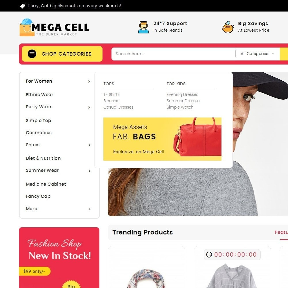 theme - Moda & Calzature - Mega Cell Fashion Market - 9