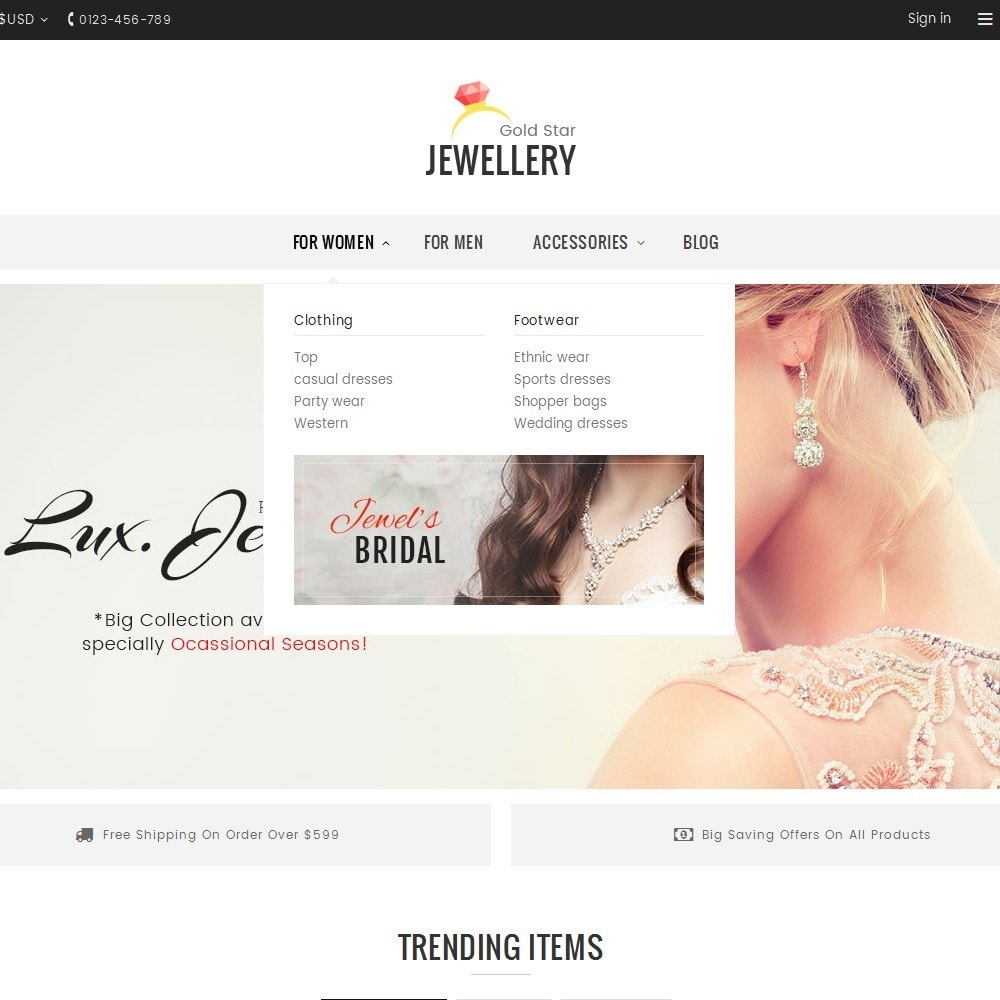 theme - Bellezza & Gioielli - Jewelry Store - 8