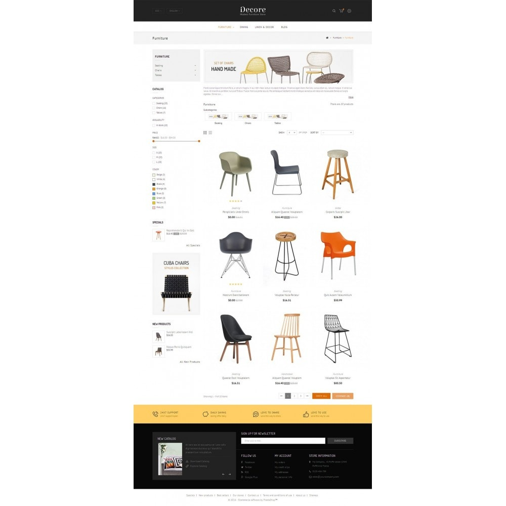 theme - Casa & Giardino - Furniture Shop - 4