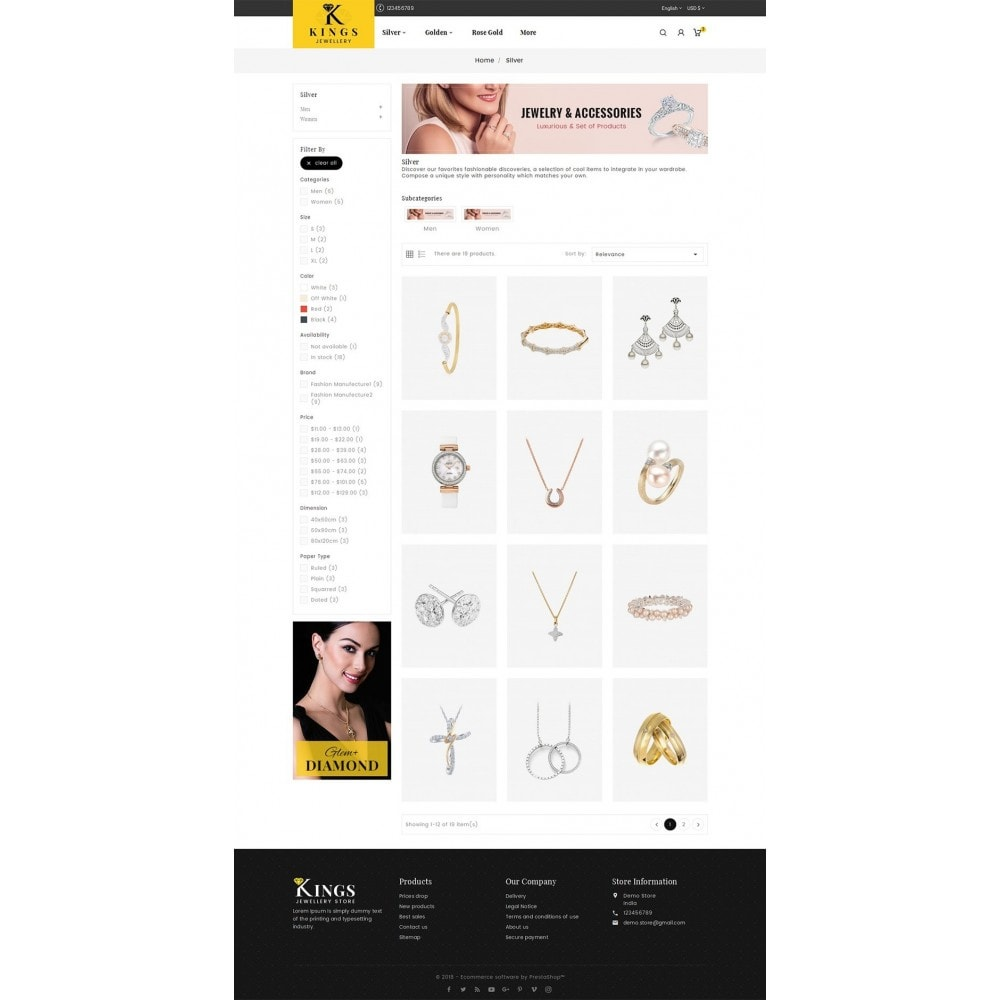 theme - Schmuck & Accesoires - Kings Jewelry - 4
