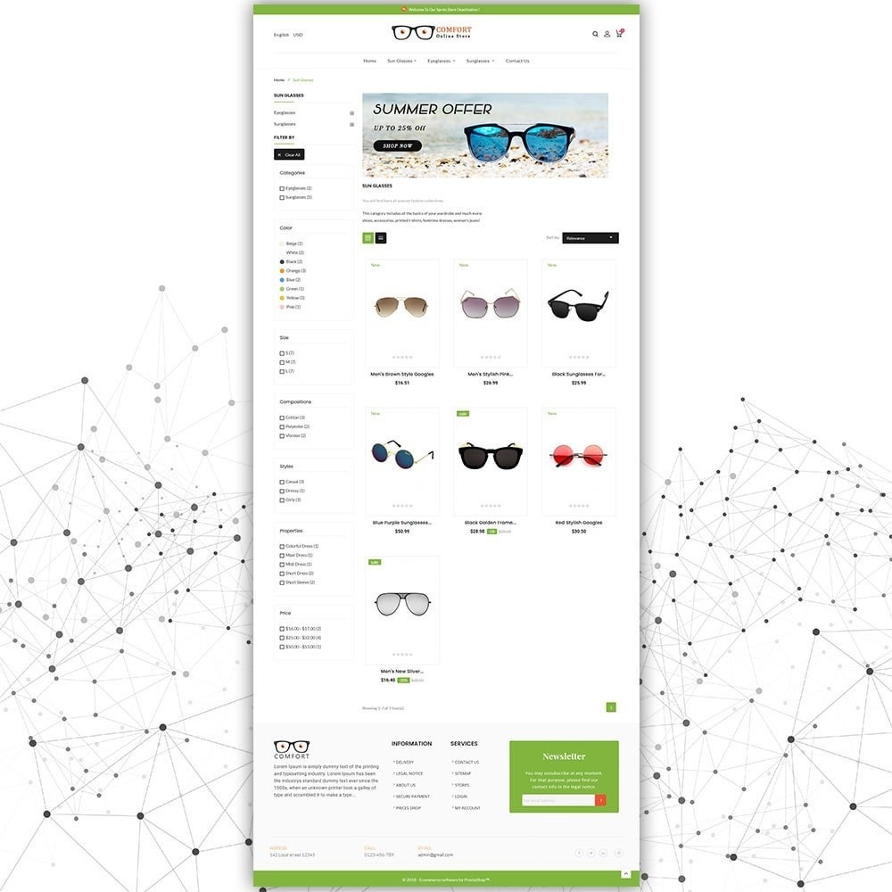 theme - Moda & Obuwie - Comfort Sunglasses Store - 4