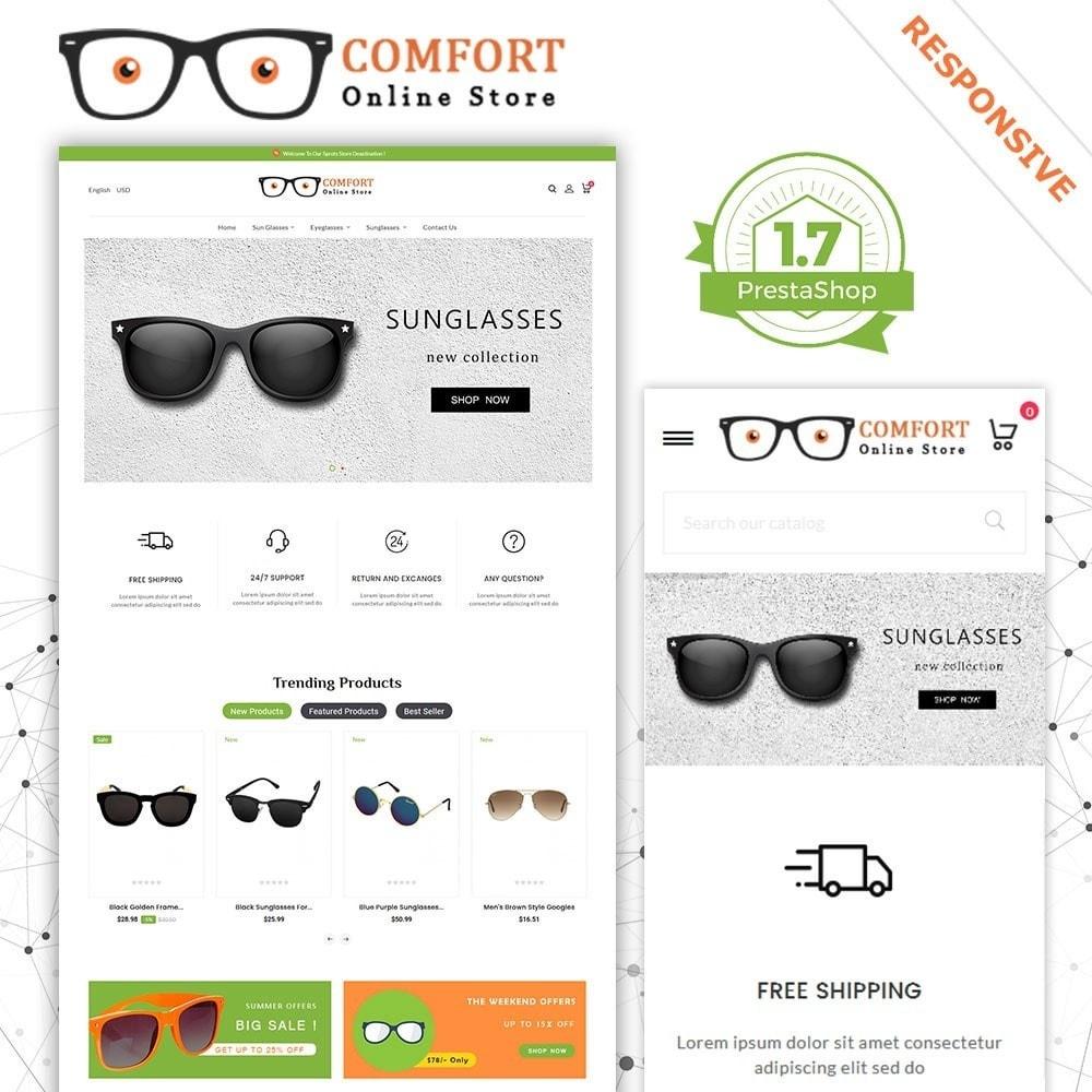 theme - Moda & Calçados - Loja de óculos de sol Comfort - 2