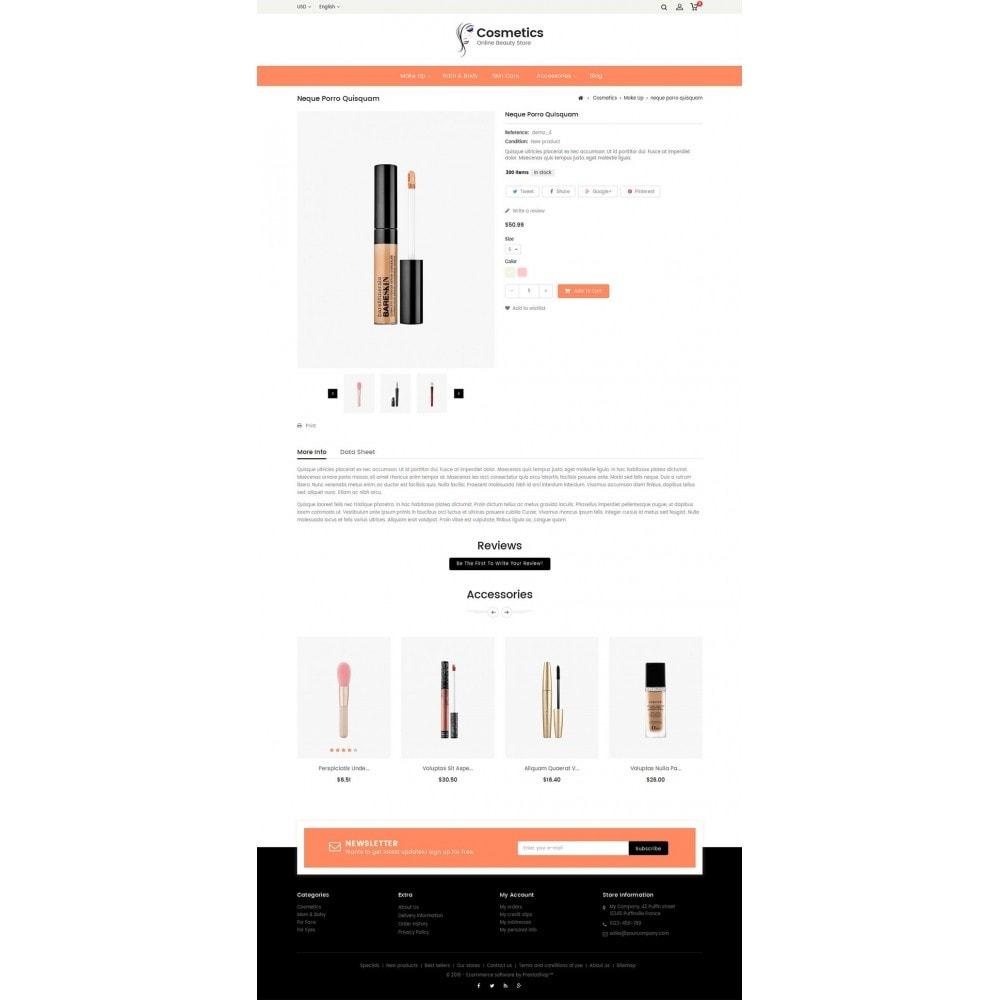 theme - Santé & Beauté - Cosmetic Store - 5