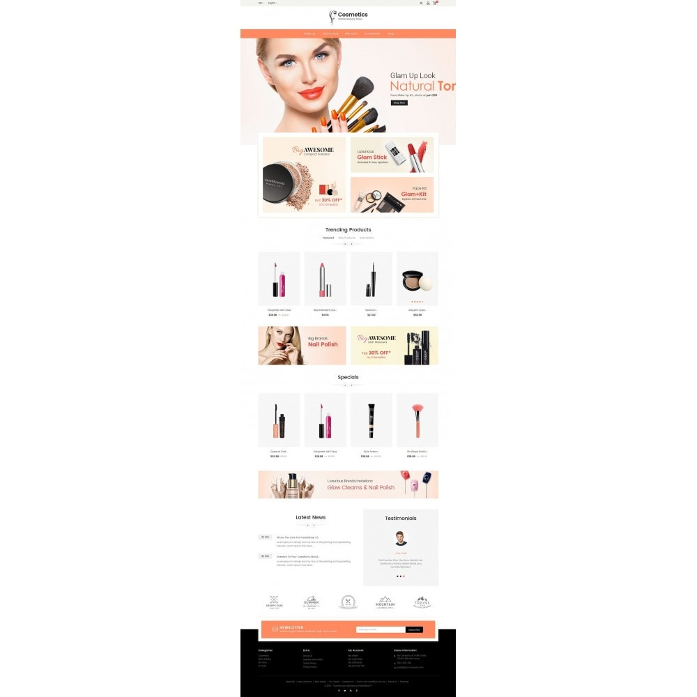 theme - Salute & Bellezza - Cosmetic Store - 3