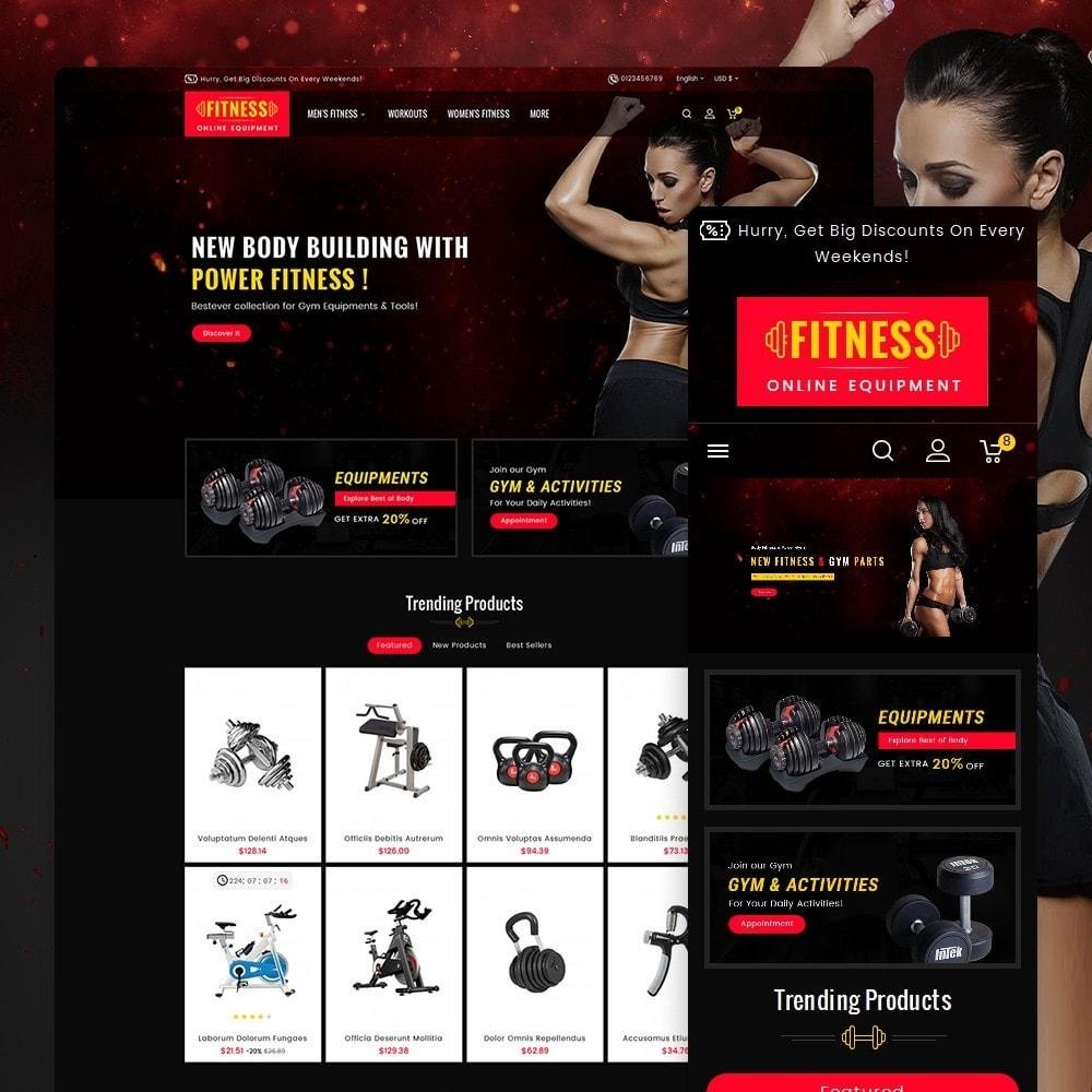 theme - Deportes, Actividades y Viajes - Gym & Fitness - 2