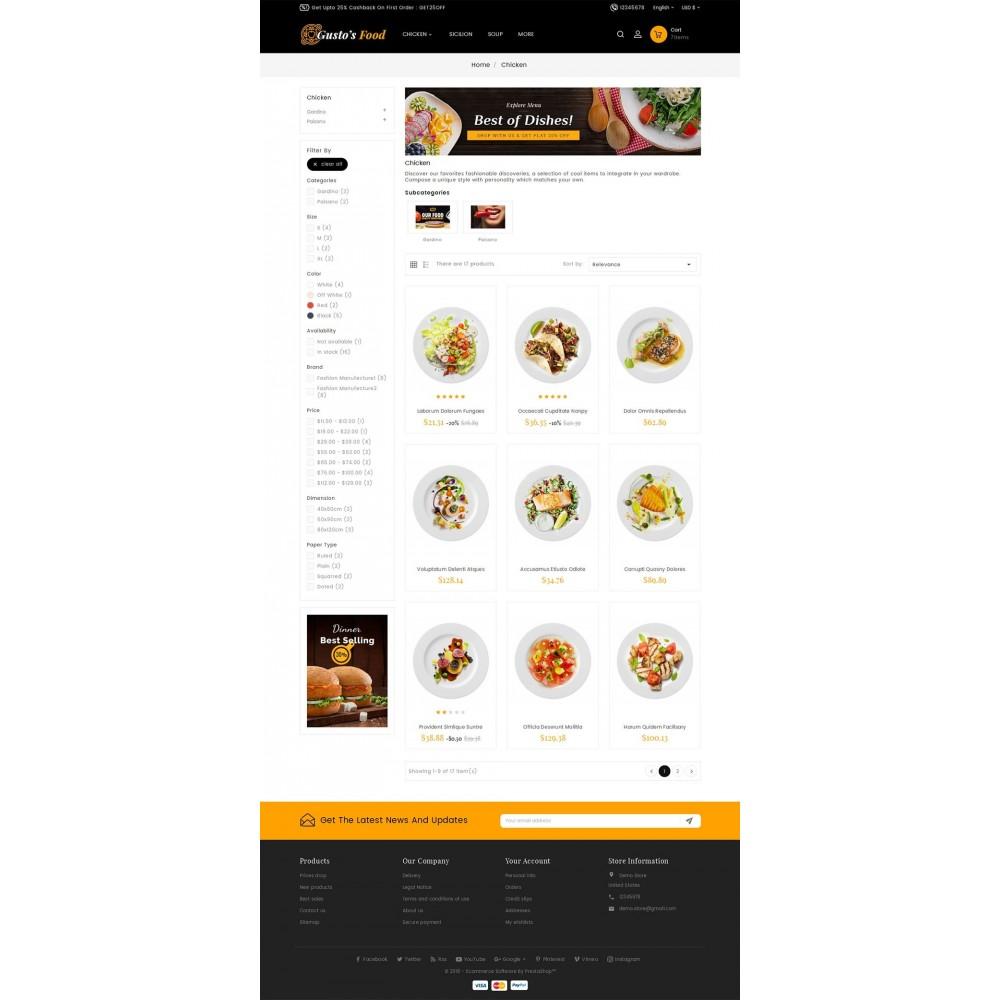theme - Cibo & Ristorazione - Gusto Restaurant Food - 7