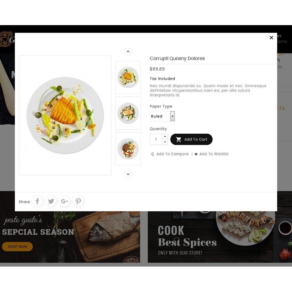 theme - Cibo & Ristorazione - Gusto Restaurant Food - 14