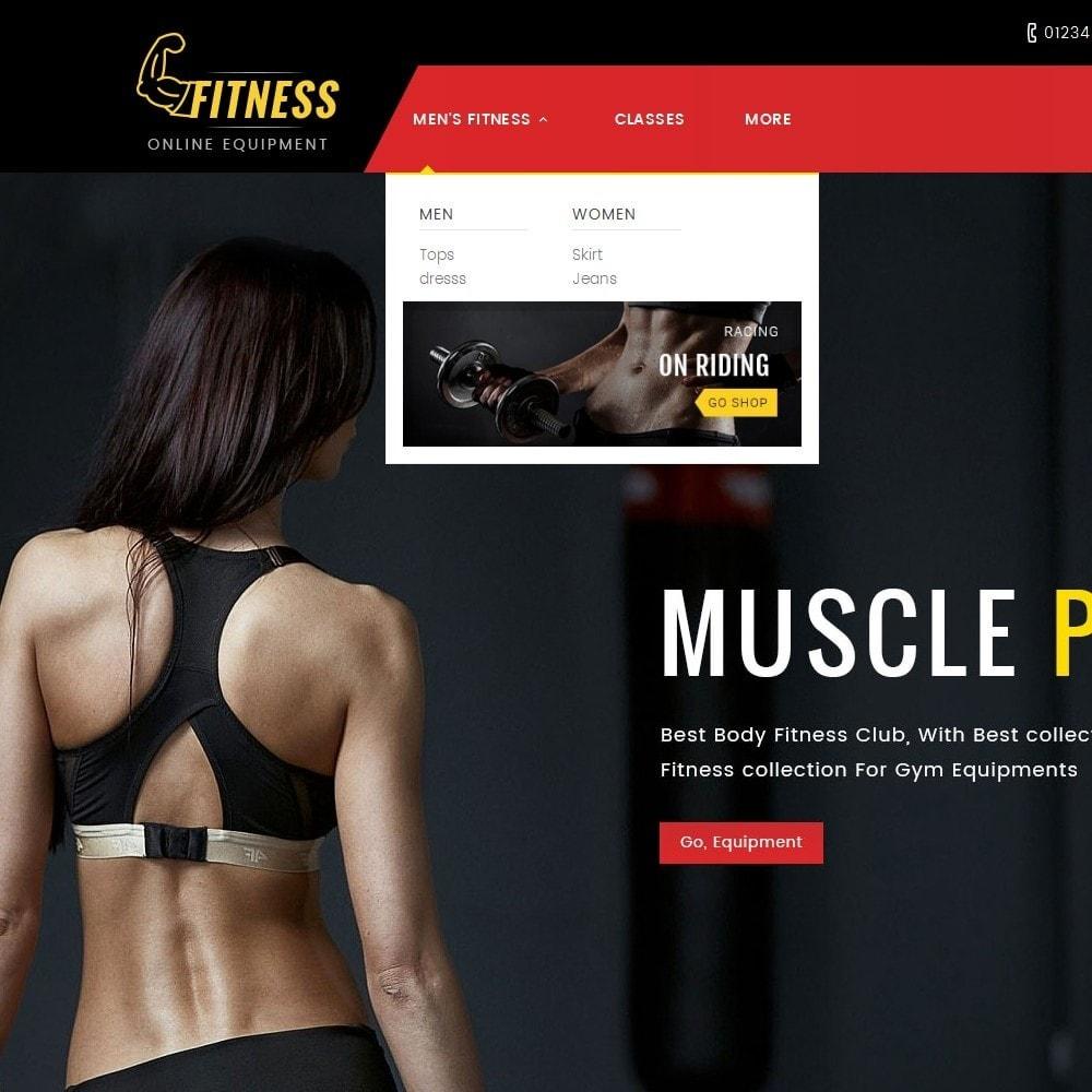 theme - Deportes, Actividades y Viajes - Fitness Equipment - 9