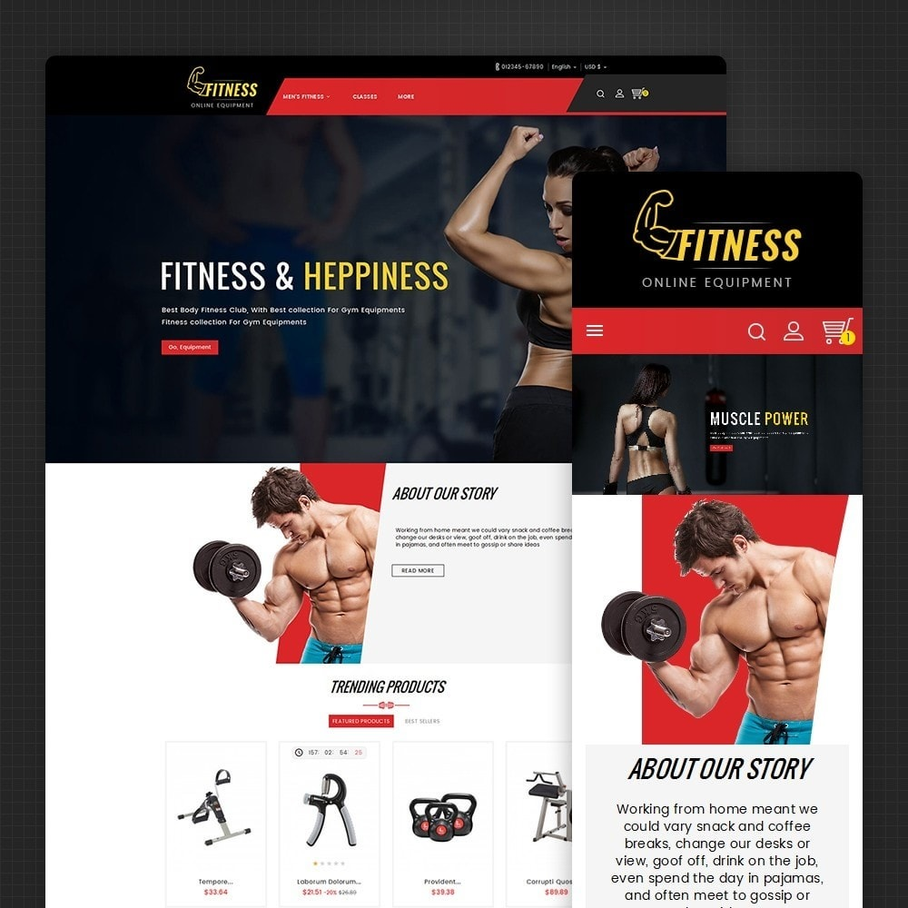 theme - Sport, Attività & Viaggi - Fitness Equipment - 2