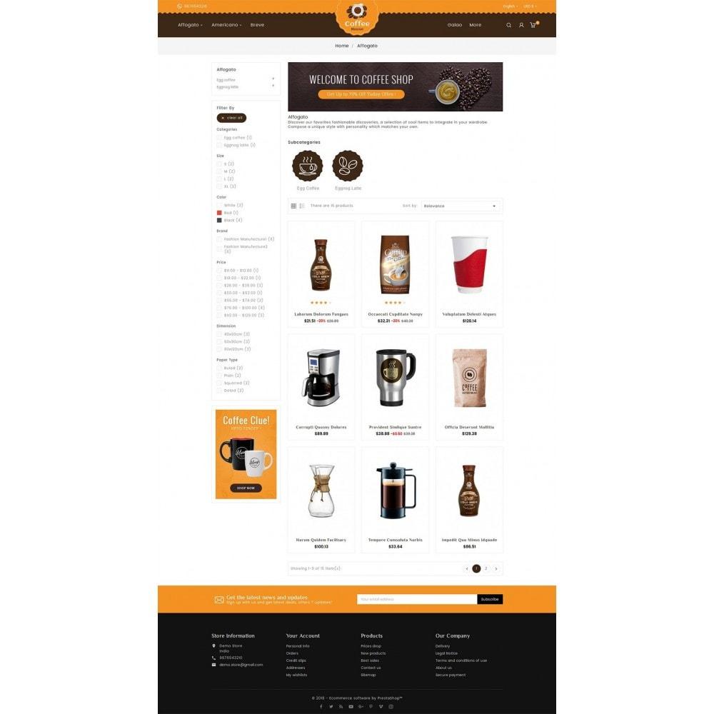 theme - Gastronomía y Restauración - Coffee House - 4