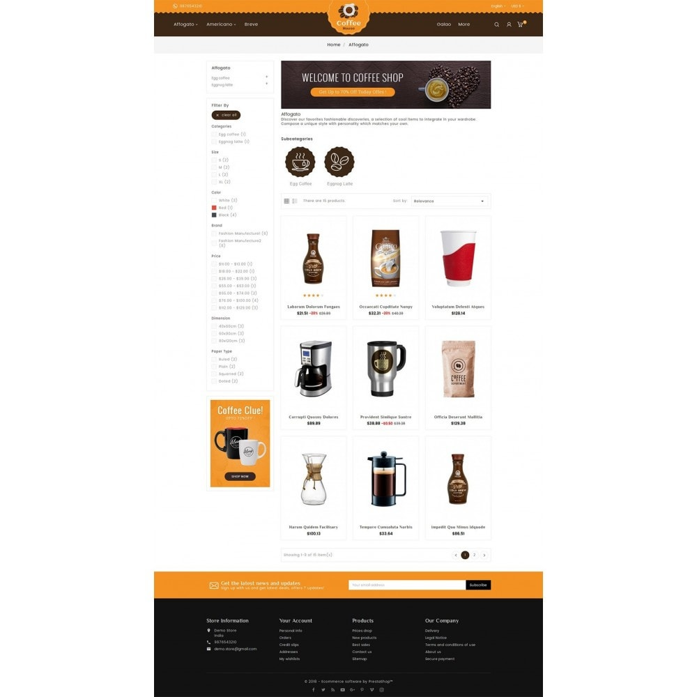 theme - Lebensmittel & Restaurants - Coffee House - 4