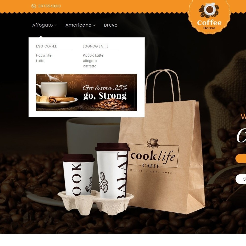 theme - Lebensmittel & Restaurants - Coffee House - 9