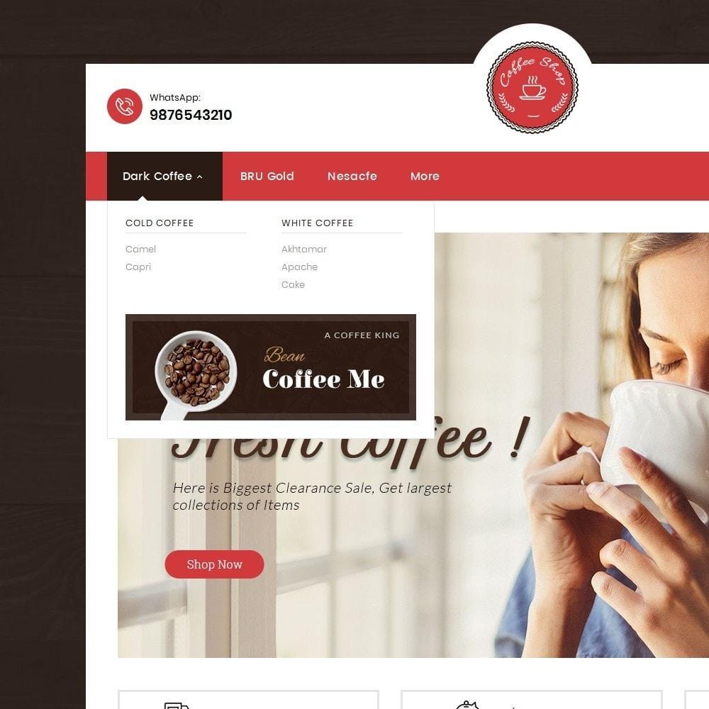 theme - Alimentation & Restauration - Coffee Cafe Shop - 9