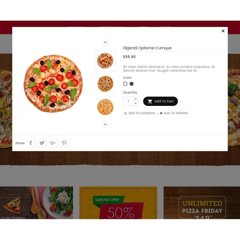 theme - Cibo & Ristorazione - Cheesy Pizza - Fast Food - 8