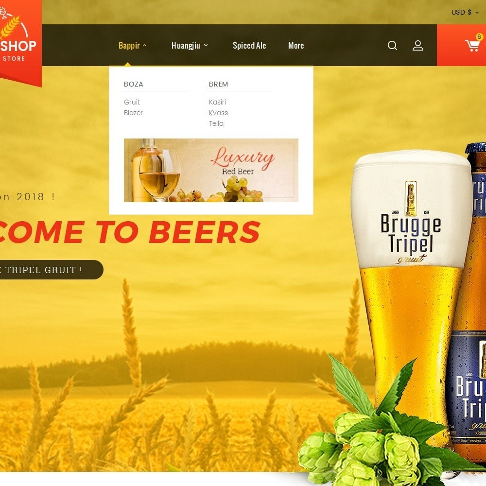 theme - Getränke & Tabak - Beer & Winery - 9