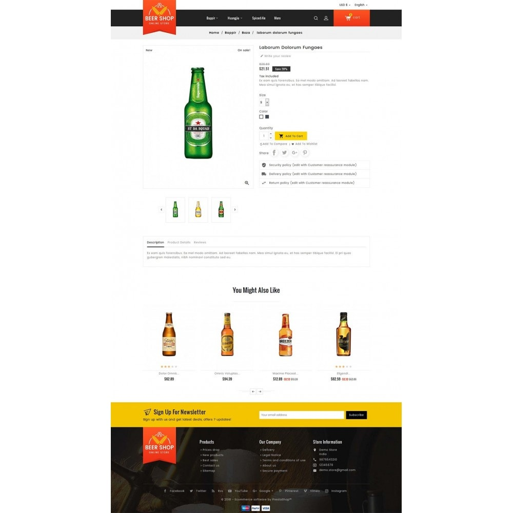 theme - Drink & Wine - Beer & Winery - 6