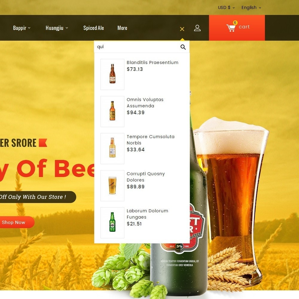 theme - Drink & Wine - Beer & Winery - 10