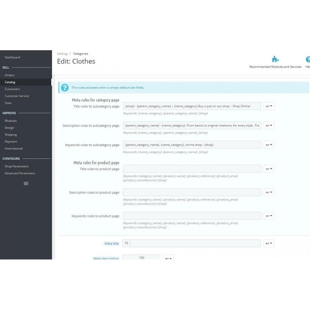module - SEO (Posicionamiento en buscadores) - Seo Meta Rules - 3