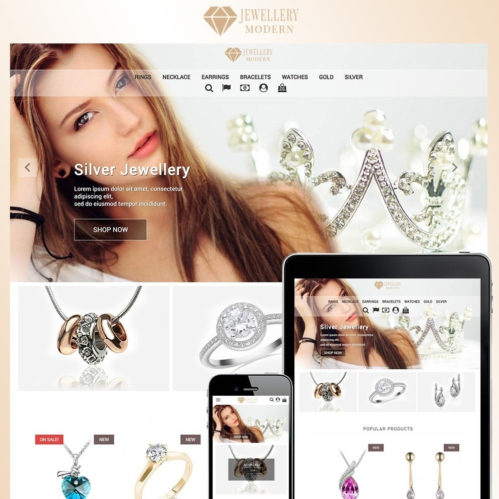 theme - Bellezza & Gioielli - Modern Jewellery - 1