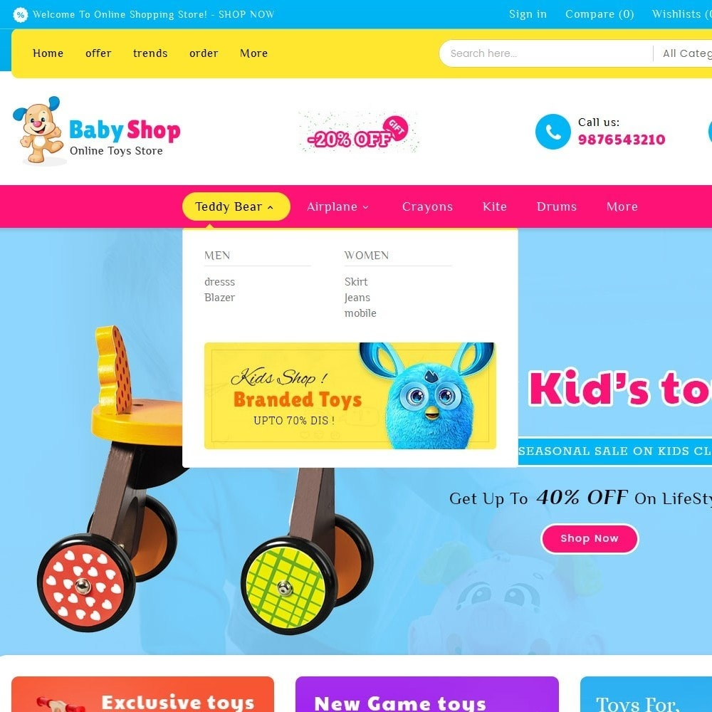 theme - Enfants & Jouets - Baby Toys - 9