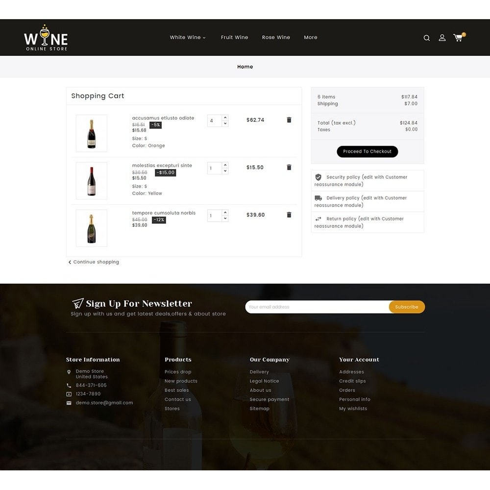 theme - Drink & Wine - Wine Yard - 7