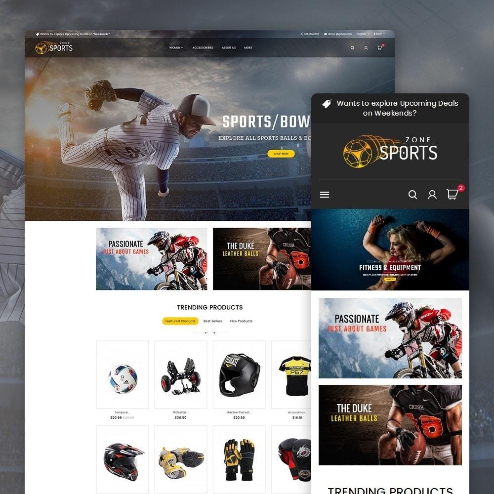 theme - Sport, Loisirs & Voyage - Sports Zone - 3