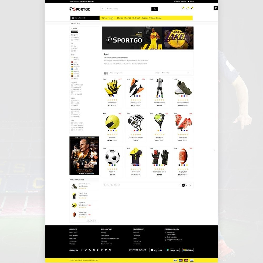 theme - Sports, Activities & Travel - SportGO – Sport Accessories Store - 3