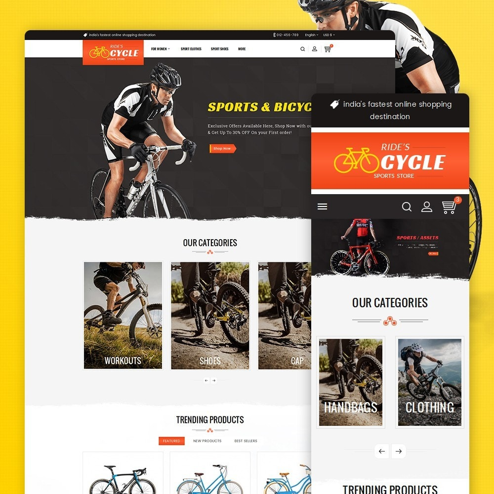 theme - Sport, Loisirs & Voyage - Sports Bicycle - 2