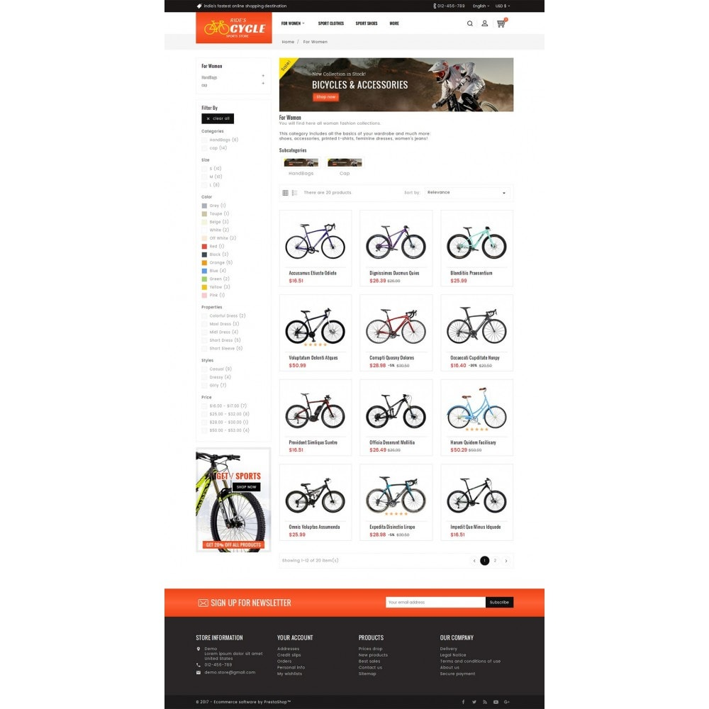 theme - Sport, Aktivitäten & Reise - Sports Bicycle - 4