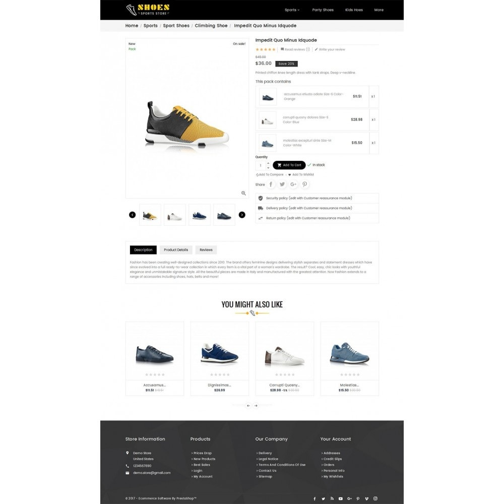 theme - Sport, Loisirs & Voyage - Shoes Sport Store - 6