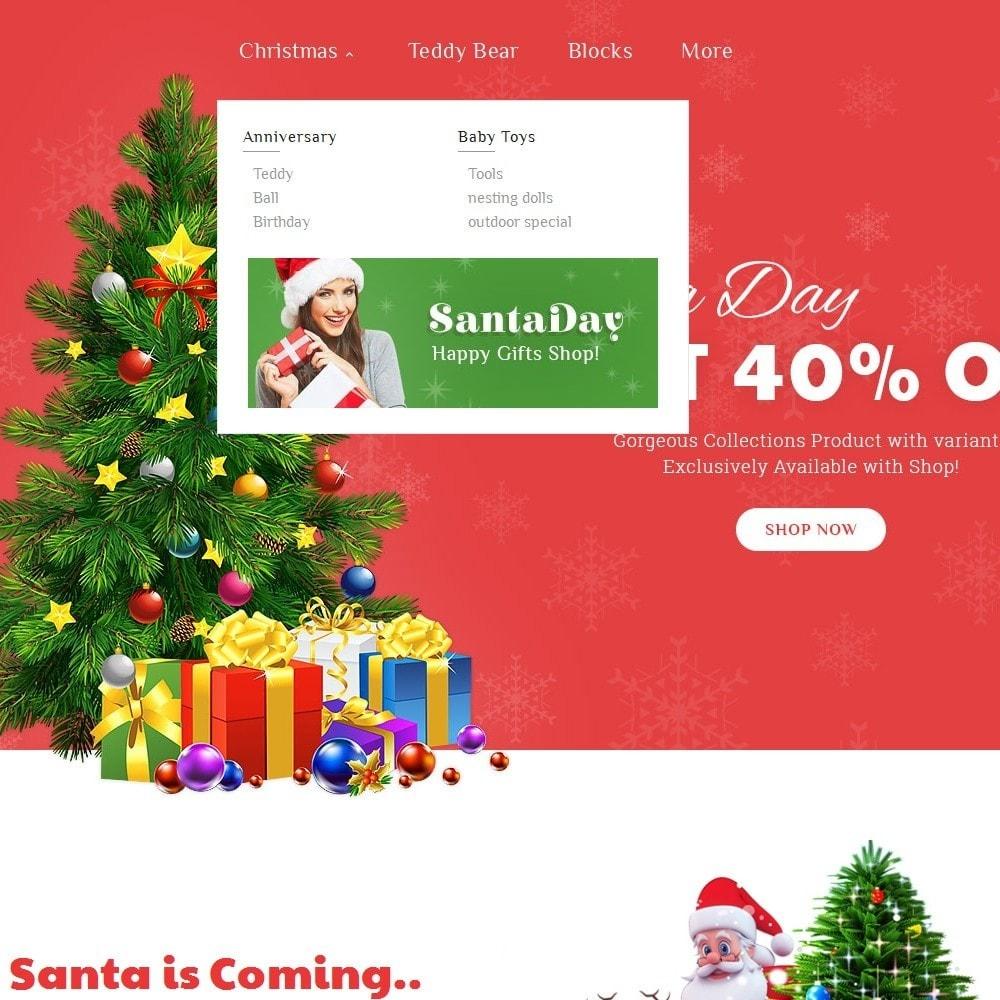 theme - Cadeaux, Fleurs et Fêtes - Santa Gift Store - 9