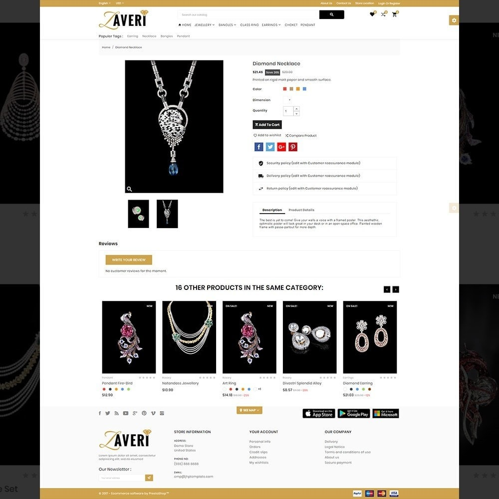 theme - Bellezza & Gioielli - Zaveri – Jewelry & accessories Store - 4