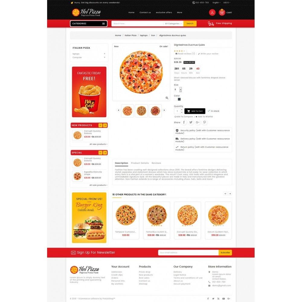 theme - Cibo & Ristorazione - Paprika Pizza - Fast Food - 6