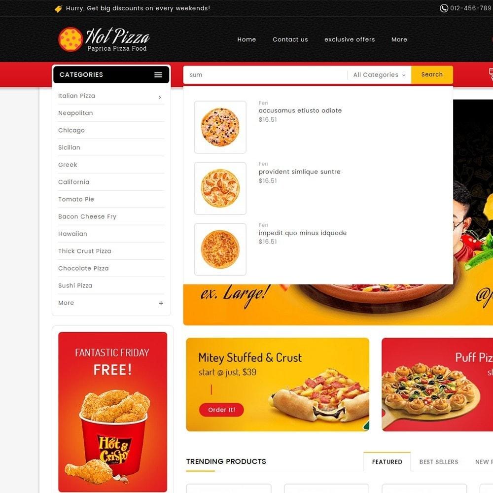 theme - Cibo & Ristorazione - Paprika Pizza - Fast Food - 10
