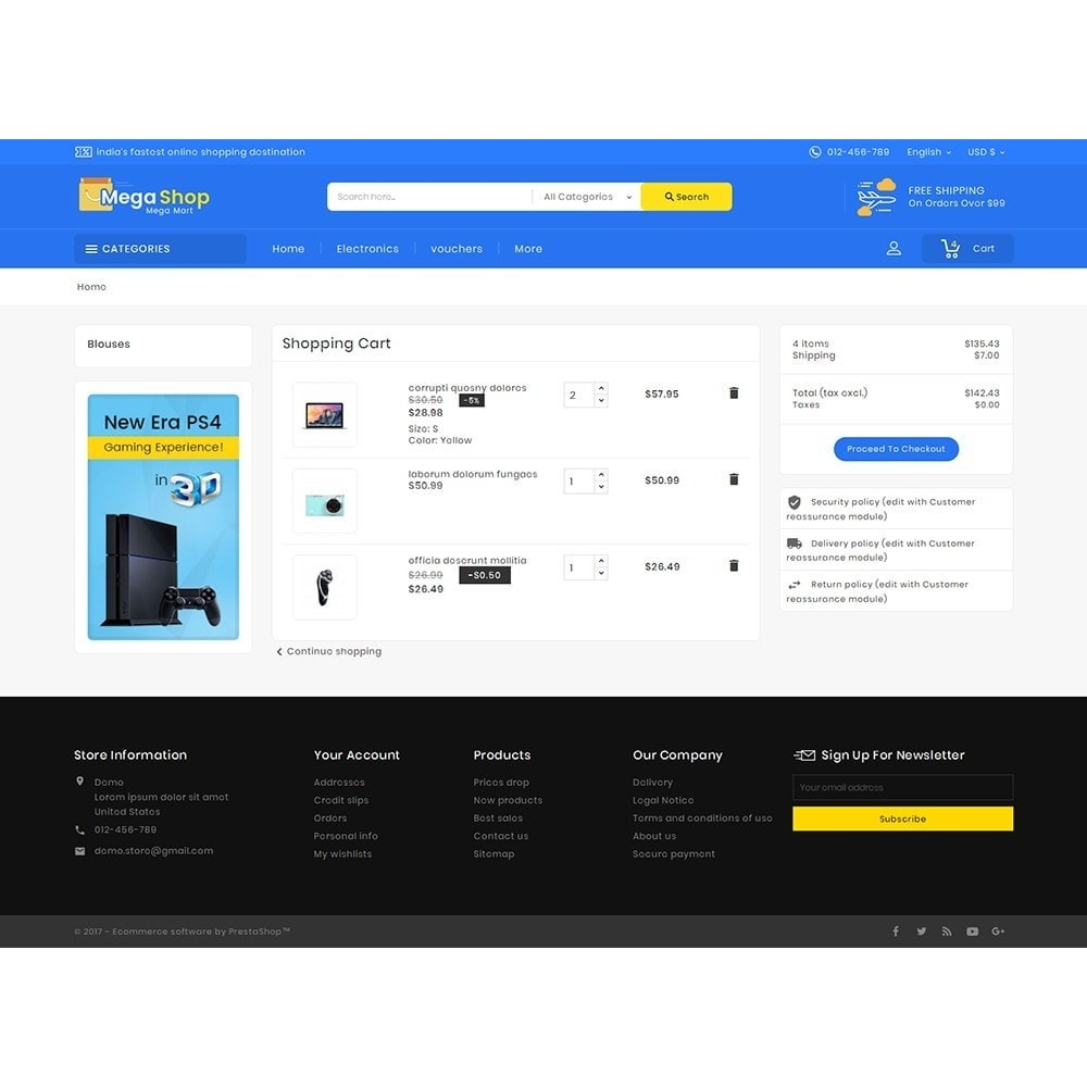 theme - Electronique & High Tech - Mega Electronics Shop - 7