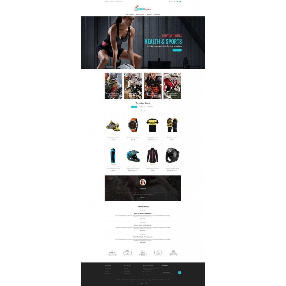 theme - Deportes, Actividades y Viajes - Iconic Sports Store - 3