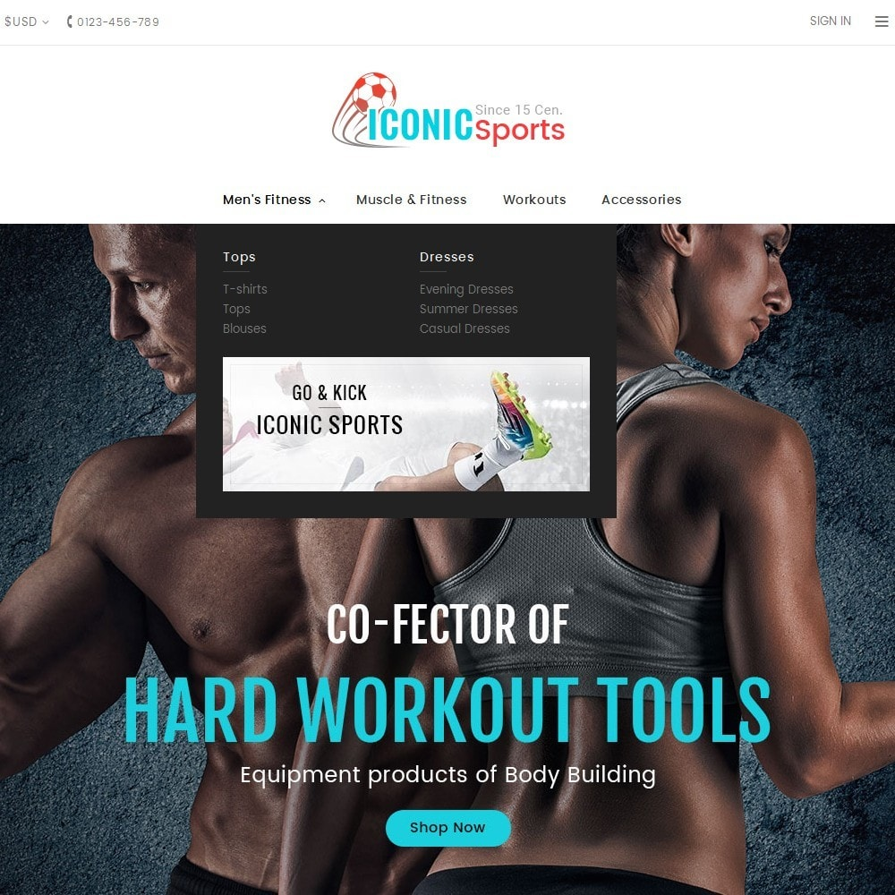 theme - Sport, Aktivitäten & Reise - Iconic Sports Store - 9