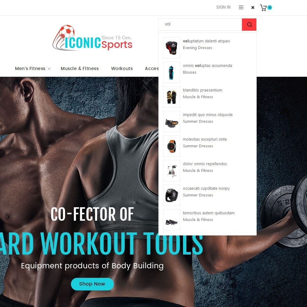 theme - Sport, Aktivitäten & Reise - Iconic Sports Store - 11