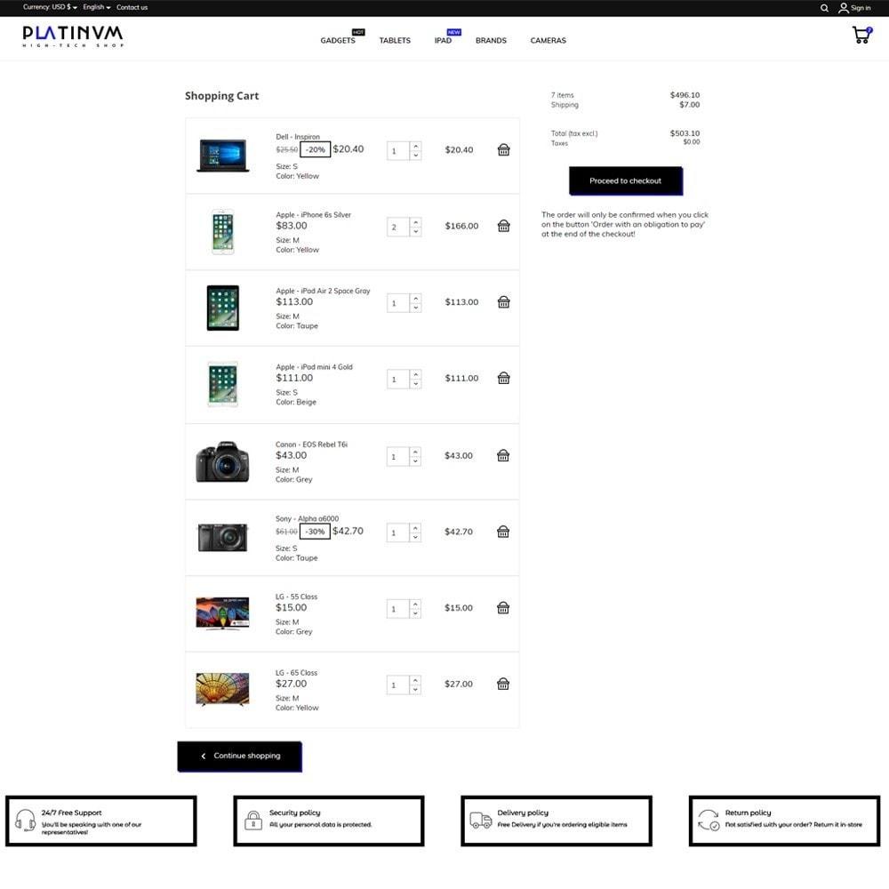 theme - Elektronica & High Tech - Platinum - High-tech Shop - 7