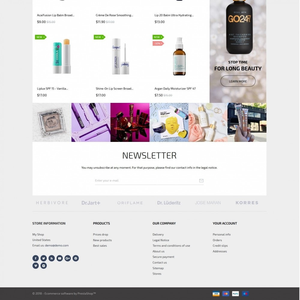 theme - Здоровье и красота - Venus Cosmetics - 4