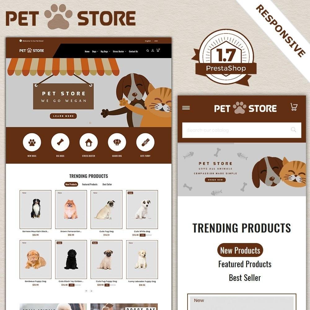 theme - Animales y Mascotas - Tienda de mascotas - 2