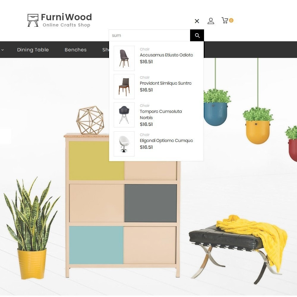 theme - Hogar y Jardín - FurniWood Decoration - 10