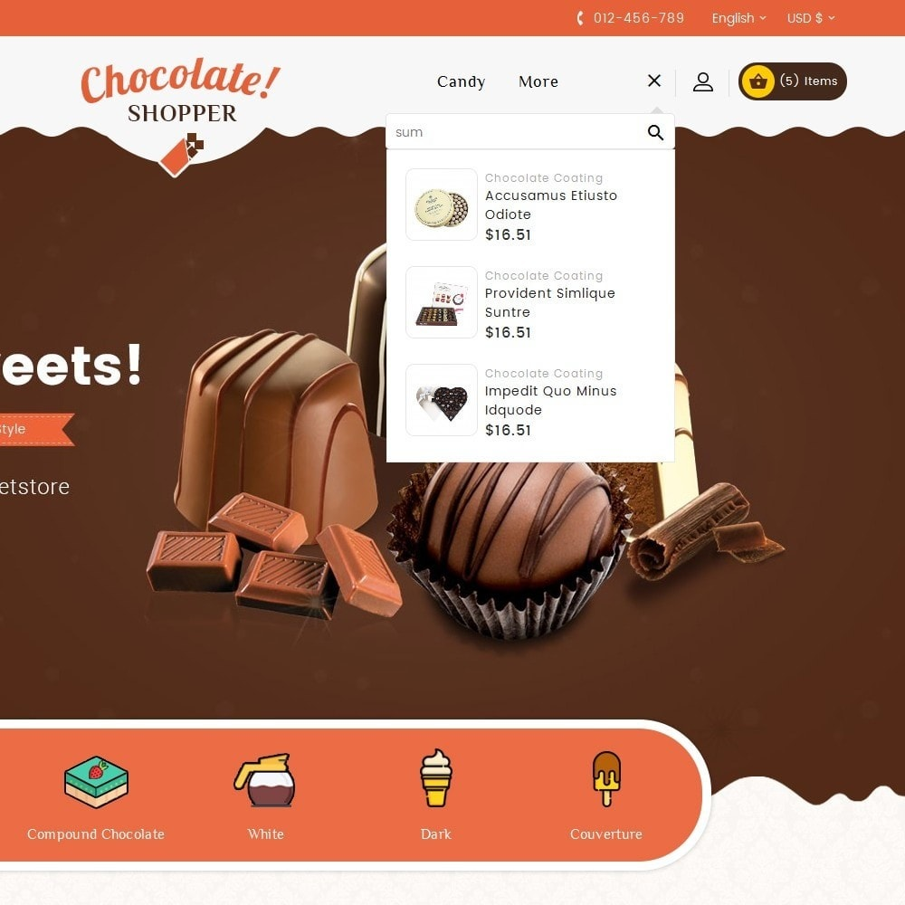 theme - Regali, Fiori & Feste - Chocolate Cream - 10