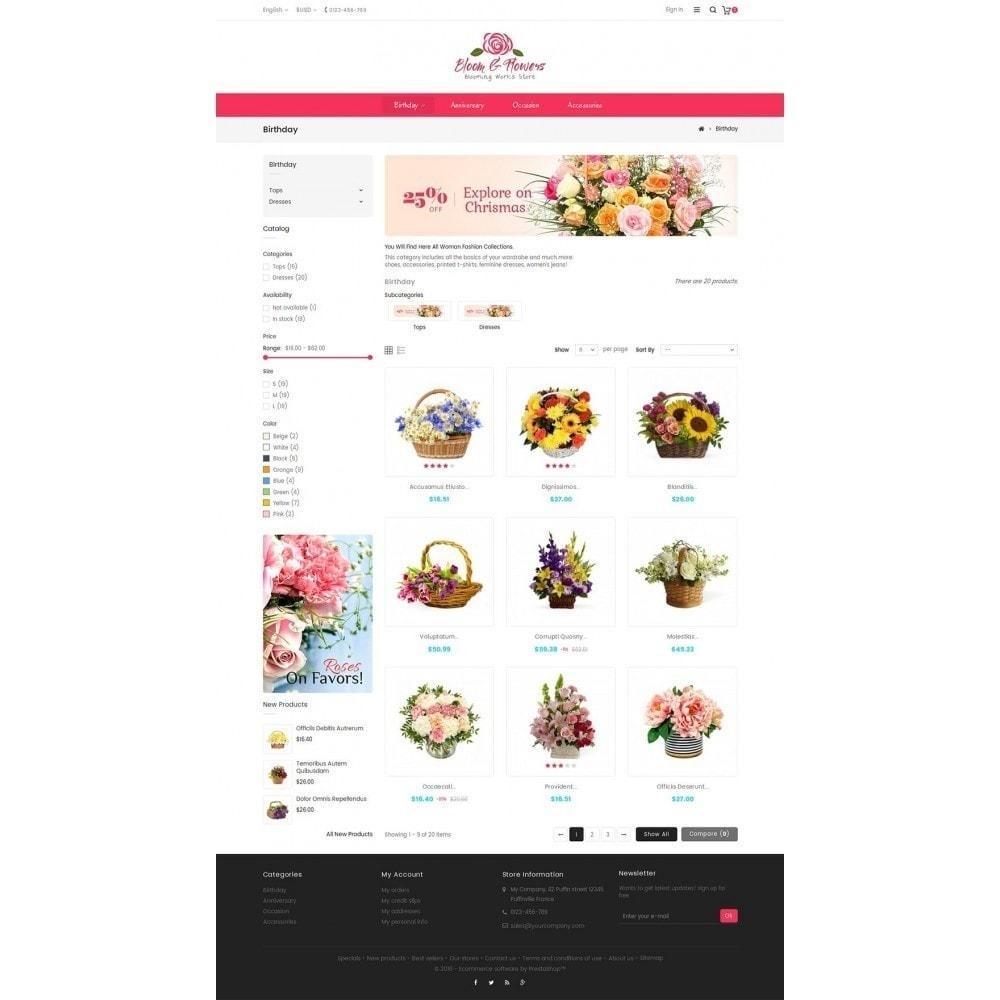 theme - Geschenke, Blumen & Feiern - Bloom Flower Store - 4